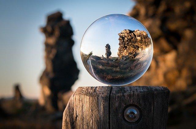skleněná kulička