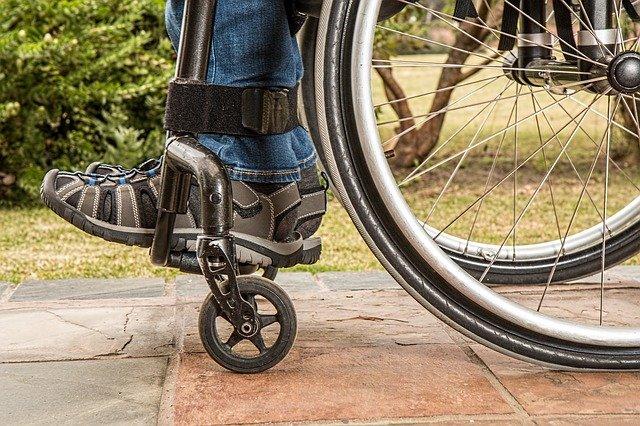 nohy invalidy