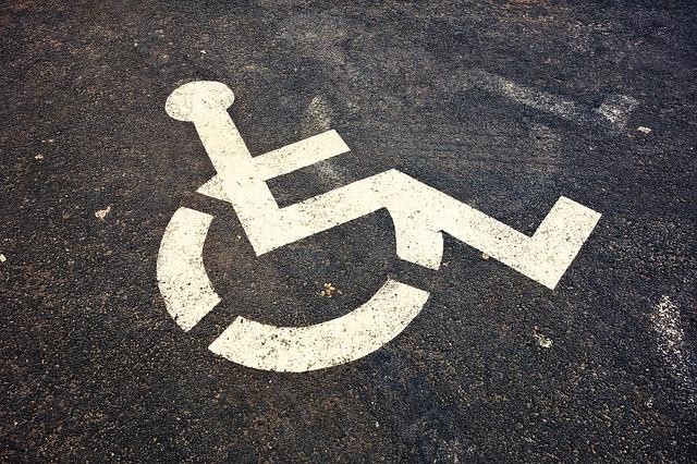 značka tělesně postižení