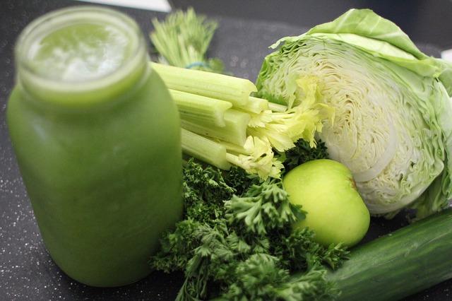 šťáva ze zeleniny