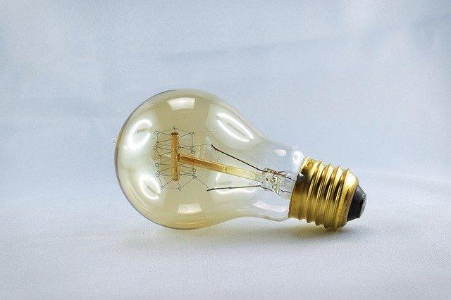 vintage žárovka