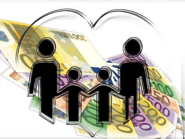 rodina na penězích