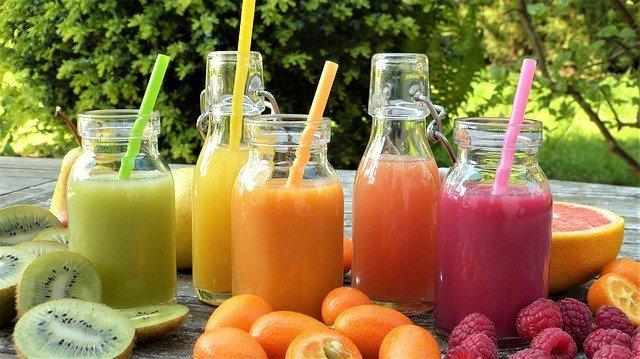 zeleninové detoxikační šťávy