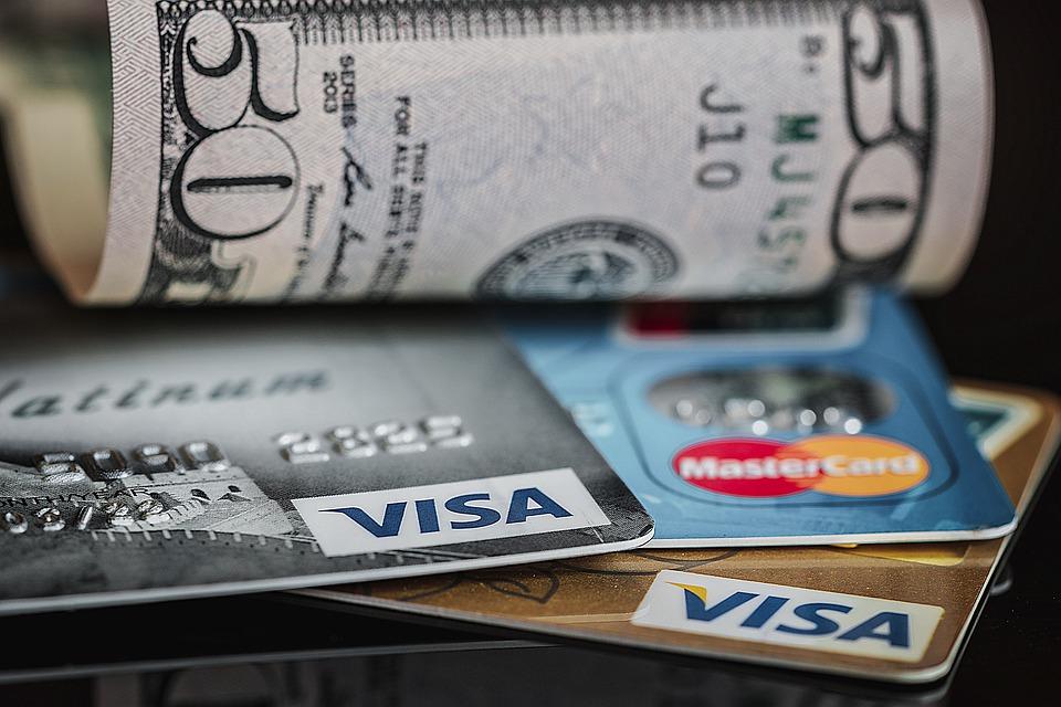 karty a dolary