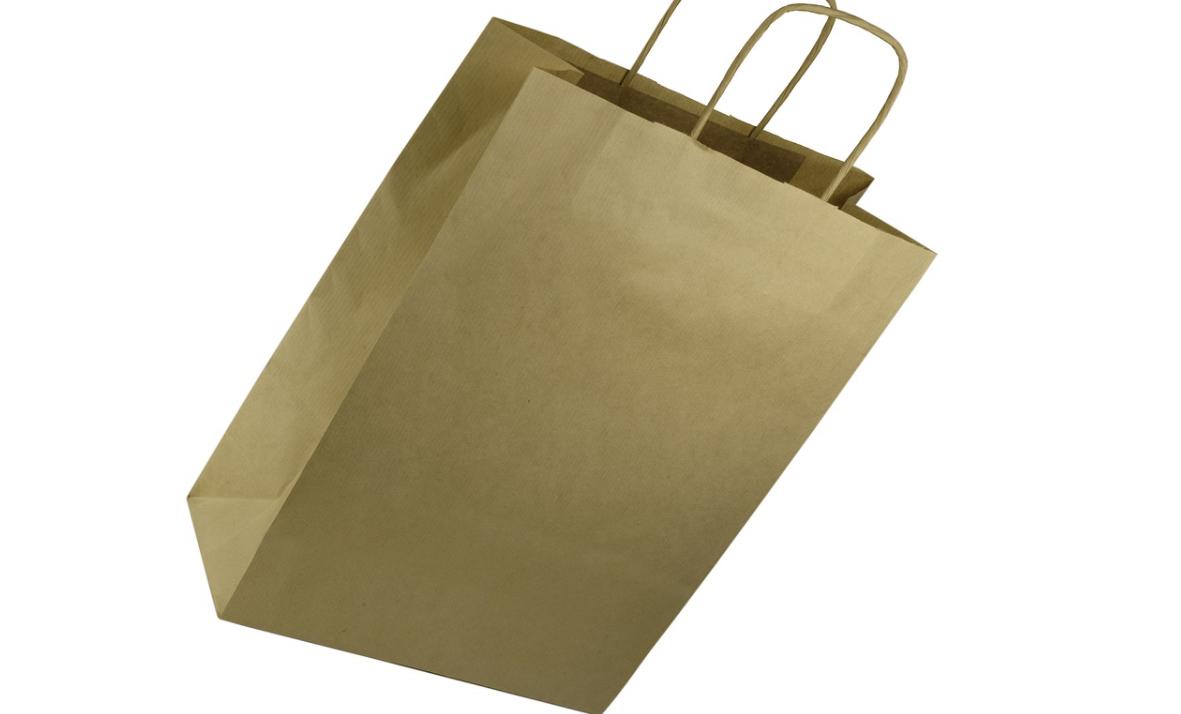 nákup v tašce